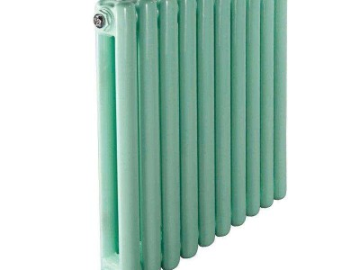 白色鋼二柱暖氣片生產廠家