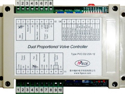 PVC-D2-25A-12雙路電子比例控制器