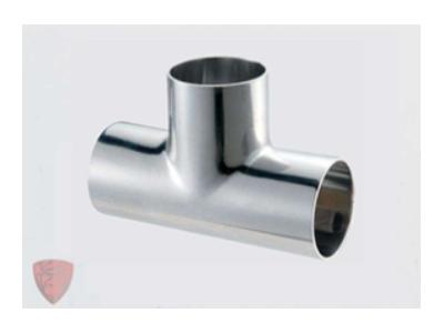 不锈钢三通 管道三通 罡正不锈钢卫生管