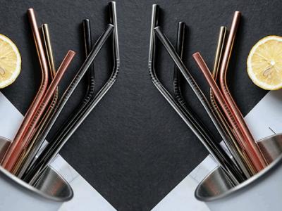 304食品级不锈钢吸管 佛山精密不锈钢管件定制厂家