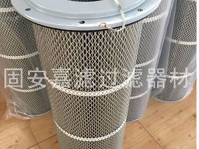 阻燃除尘滤筒烟尘滤芯定做厂家更优惠_嘉滤