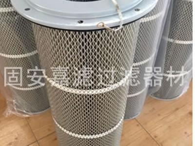 阻燃除尘滤芯滤筒外形美观大量供货_嘉滤过滤