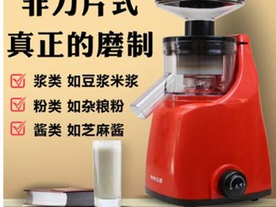 上海天下帥鄉小型電動玉米漿打漿機石磨芝麻醬豆花豆腐