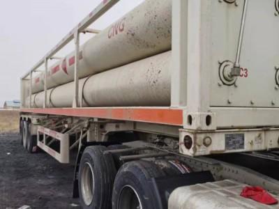 出售二手CNG高壓氣體運輸車  壓縮天然氣運輸車