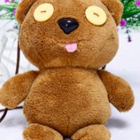 紐扣動物熊鼻手工紐扣玩偶公仔毛絨玩具