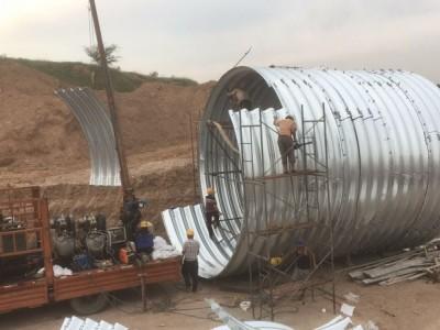 波纹涵管钢波纹管涵现货供应 厂家直销波纹钢管