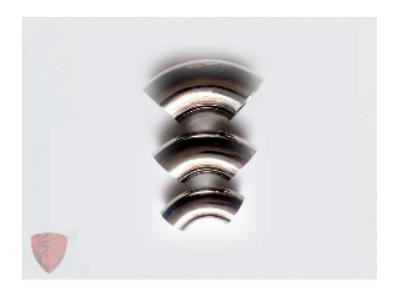 奧氏體304不銹鋼彎頭 切割加工薄壁管材管件