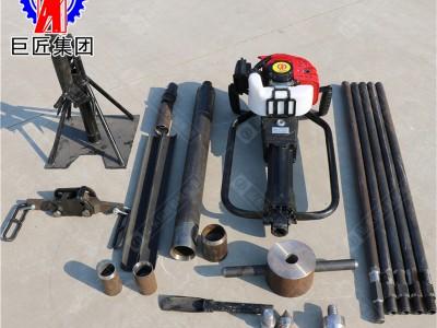 巨匠集团QTZ-1取土钻机 小型冲击式地质勘探取样钻机