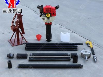 华夏巨匠环保土壤取土钻机 轻便冲击式勘探钻机 不用水取土样
