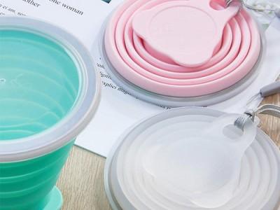 硅膠廚具,硅膠折疊碗定制,廠家開模生產硅膠餐廚具