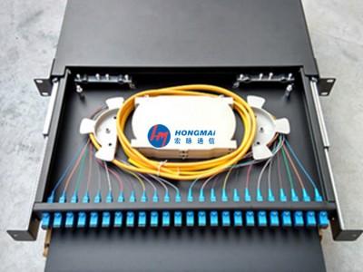 24口光纜終端盒(SC/ST/FC/LC接口)