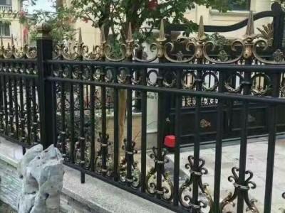泰州铸铝围栏铝艺大门护栏楼梯防盗护窗工程厂家