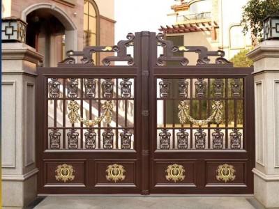 兴化铸铝围栏铝艺大门护栏楼梯防盗护窗工程厂家