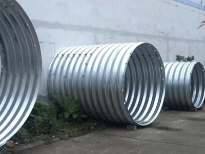 金属波纹管涵洞螺旋钢波纹管