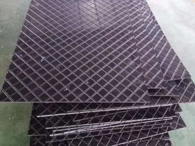 超高分子量聚乙烯养猪场防滑板 养猪场菱形纹防滑板生产厂家