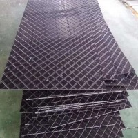 超高分子量聚乙烯養豬場防滑板 養豬場菱形紋防滑板生產廠家