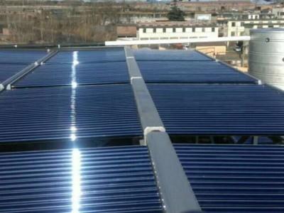 河北针织厂太阳能热水工程