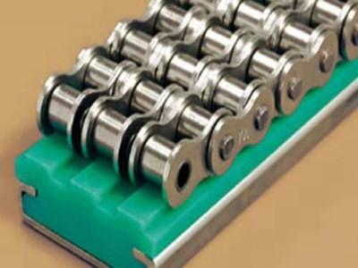 精工制造超高分子量聚乙烯单排链条导轨CU型公司供应链条导轨