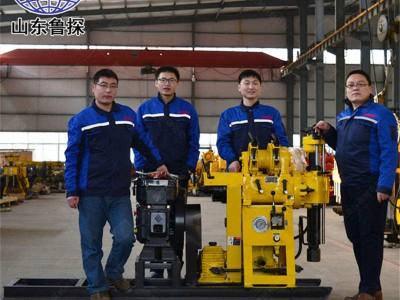 HZ-130Y液压岩芯钻机 130米钻井机厂家供应