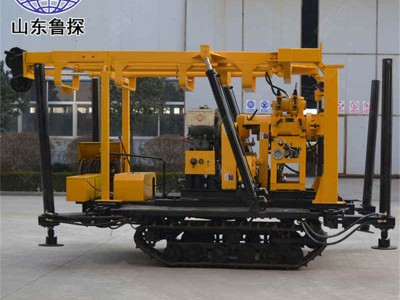 XYD-130履带液压岩芯钻机 取心勘探机厂家