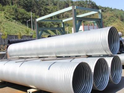 分段式波纹管涵厂家 波纹涵洞方便安装