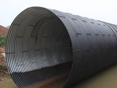 波纹涵管公路金属波纹管涵现货供应