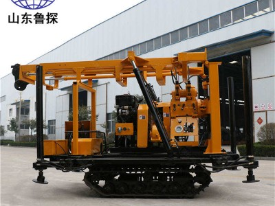 XYD-200履带液压岩芯钻机 200型打井机