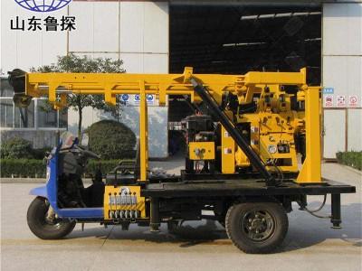 XYC-200A三轮车载液压岩芯钻机 200米钻井机