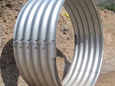 直径八米波纹涵管 沥青金属波纹涵管