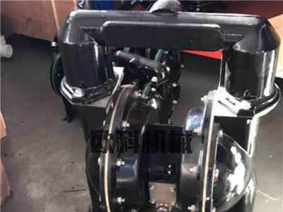 酸碱防腐蚀隔膜泵 不锈钢气动隔膜泵 耐腐蚀化工气动泵