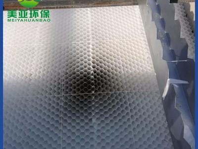 揚中工業污水斜管填料規格價格實惠