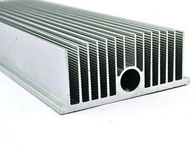 铝合金散热器片6063T5/6061T6电机外壳