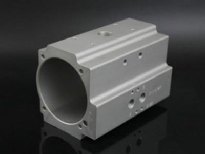 挤压铝型材气缸6063/6061铝型材气缸管气动阀门壳体