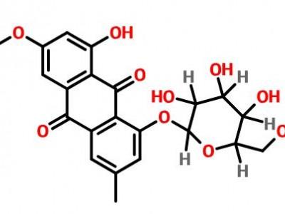 大黃素甲醚-8-o-β-d-葡萄糖苷,26296-54-8