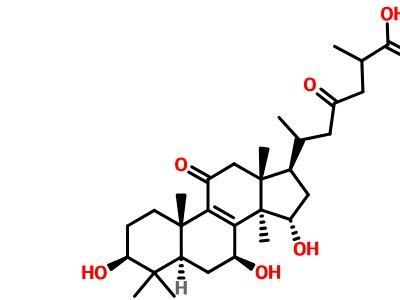靈芝酸C2|CAS:98296-48-1|對照品定制廠家