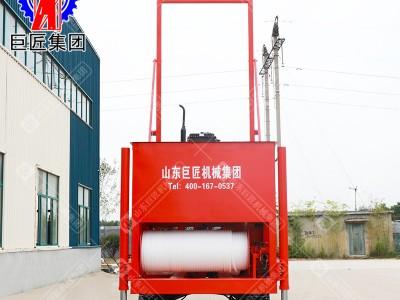 巨匠供应 液压岩芯钻机 巨匠钻探王 履带款地质勘探钻机