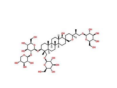 凤仙萜四醇苷M_CAS:161016-51-9|对照品供应商