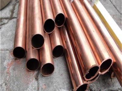 任意切割t1紫铜管/t3焊接紫铜管,高纯度t8紫铜管
