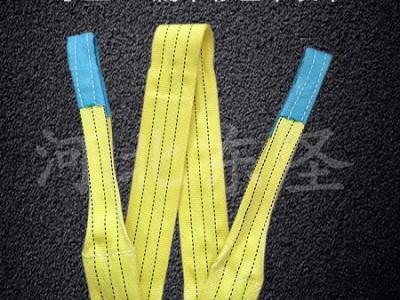 柔性吊装带作为圆柱纸膜吊装就位用的柔性吊装索具