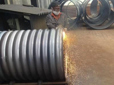 金属波纹涵管厂家直供 拼装圆形波纹涵管价格便宜