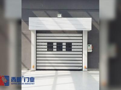 广州不锈钢材质硬质快速门