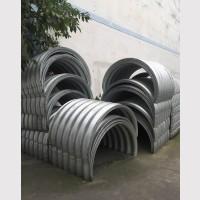 马蹄形波纹涵管价格 拼装圆环形钢波纹管涵