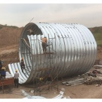 波纹涵管方便安装 渭南直径2米钢波纹管