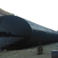 隧道加固波纹管涵 CCPC认证Φ2.0m金属波纹管涵
