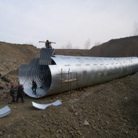 Φ3.0m金属波纹管 直径3米钢波纹管推荐绵阳