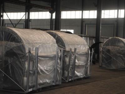 桥梁专用钢波纹钢管大量成品 环形热镀锌防腐波纹涵管