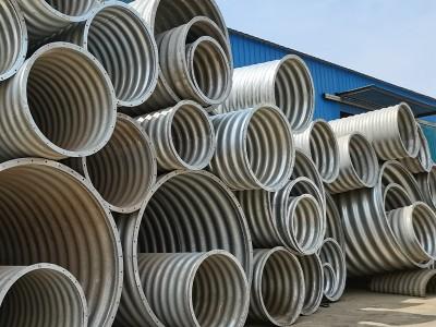 板片搭接钢波纹管 波纹钢管直径三米