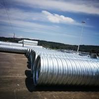 波纹钢管钢波纹管涵厂家供应 大连市波纹管