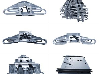桥梁伸缩缝桥面变形缝CFEZRG型高速公路抗震毛勒伸缩缝