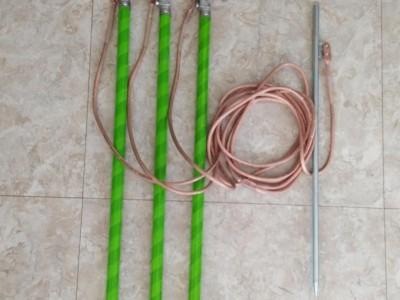 10KV高壓接地線 攜帶型短路接地線接地線螺旋接地棒